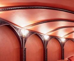 Потолочные панели для ресторанов, кафе, баров, гостиниц и отелей