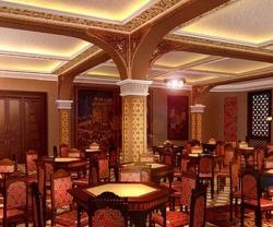 Колонны в кафе, ресторанах, гостиницах и отелях. Пилястры